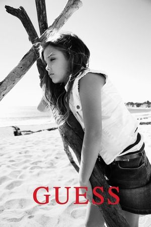 Anna Nicole Smith's 6 Year-Old Models for GUESS Kids