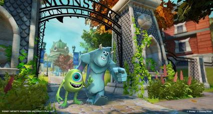 A special sneak peek at Disney Infinity!