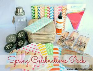 Closed: Win a Spring Celebration Pack! Congratulations Michelle!