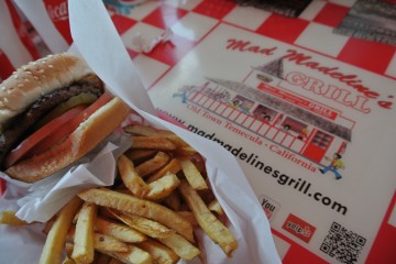 Mad Madeline's Grill in Old Town Temecula.
