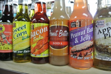 Most curious flavours of soda ever! Old Town Root Beer Company. Temecula
