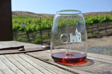 Wine Tasting at Europa Village Winery, Temecula Valley.