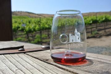 Wine Tasting at Europa Village Winery, Temecula Valley.