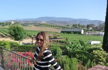 The Vineyard at Leoness Cellars, Temecula Valley.