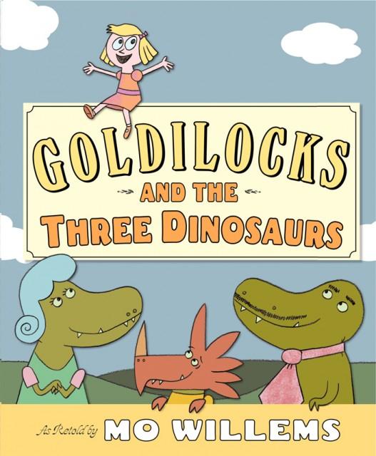 Goldilocks + 3 dinosaurs