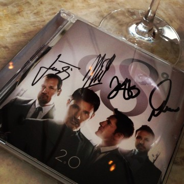 "Autographed copy of ""2.0"""