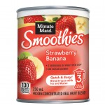Minute Maid Strawberry-Banana Smoothie