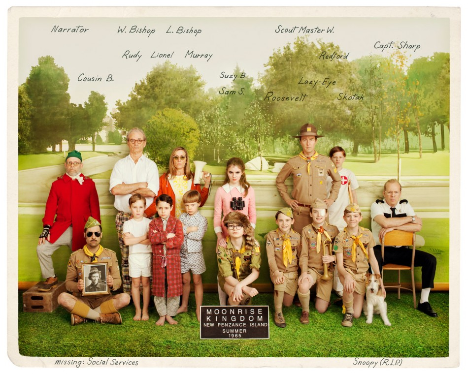 "Wes Anderson rules ""Moonrise Kingdom"""