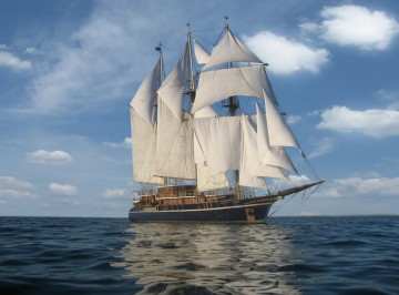 Peacemaker is one of the ships coming to the Festival (photo credit: Michelle Wells)