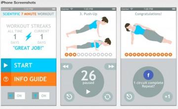 Scientific 7 Minute Workout by Endloop APP Screenshot