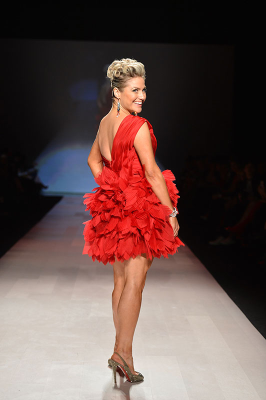 Red Hot Celebs at The Heart Truth Fashion Show