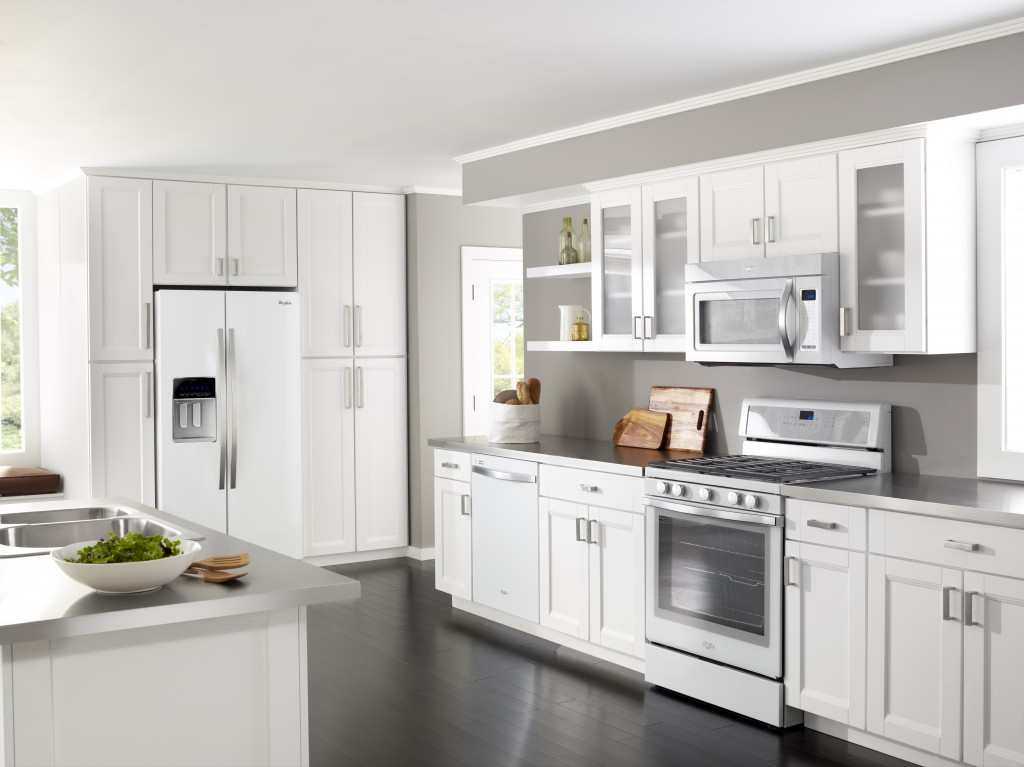 what color kitchen appliances are in style my kitchen the whirlpool white collection 9835