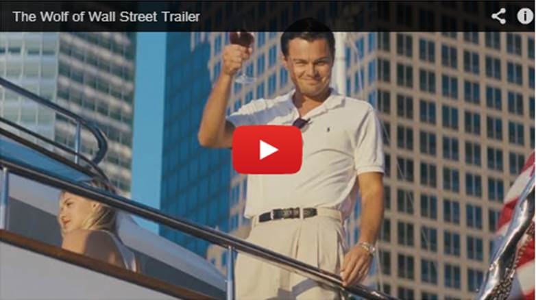 Trailer: The Wolf Of Wall Street
