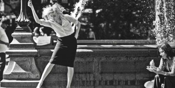 "Greta Gerwig as ""Frances Ha"""
