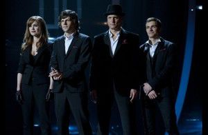 The cast of Now You See Me