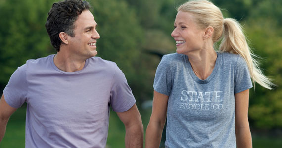 Mark Ruffalo and Gwynneth Paltrow in Thanks for Sharing