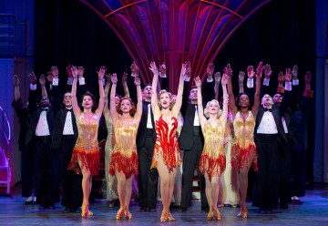 Roundabout Theatre Company's ANYTHING GOES Company. Photo Credit: © Joan Marcus, 2012