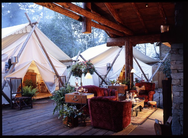 I could totally do this! Clayoquot Wilderness Resort, Tofino, British Columbia