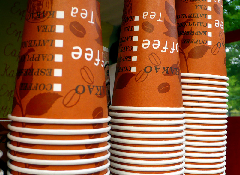 Ditch the Paper Cups!
