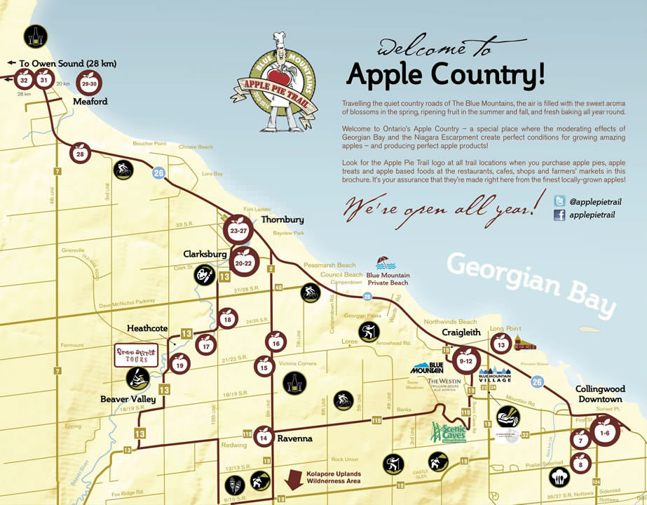 The Blue Mountains-Apple Pie Trail