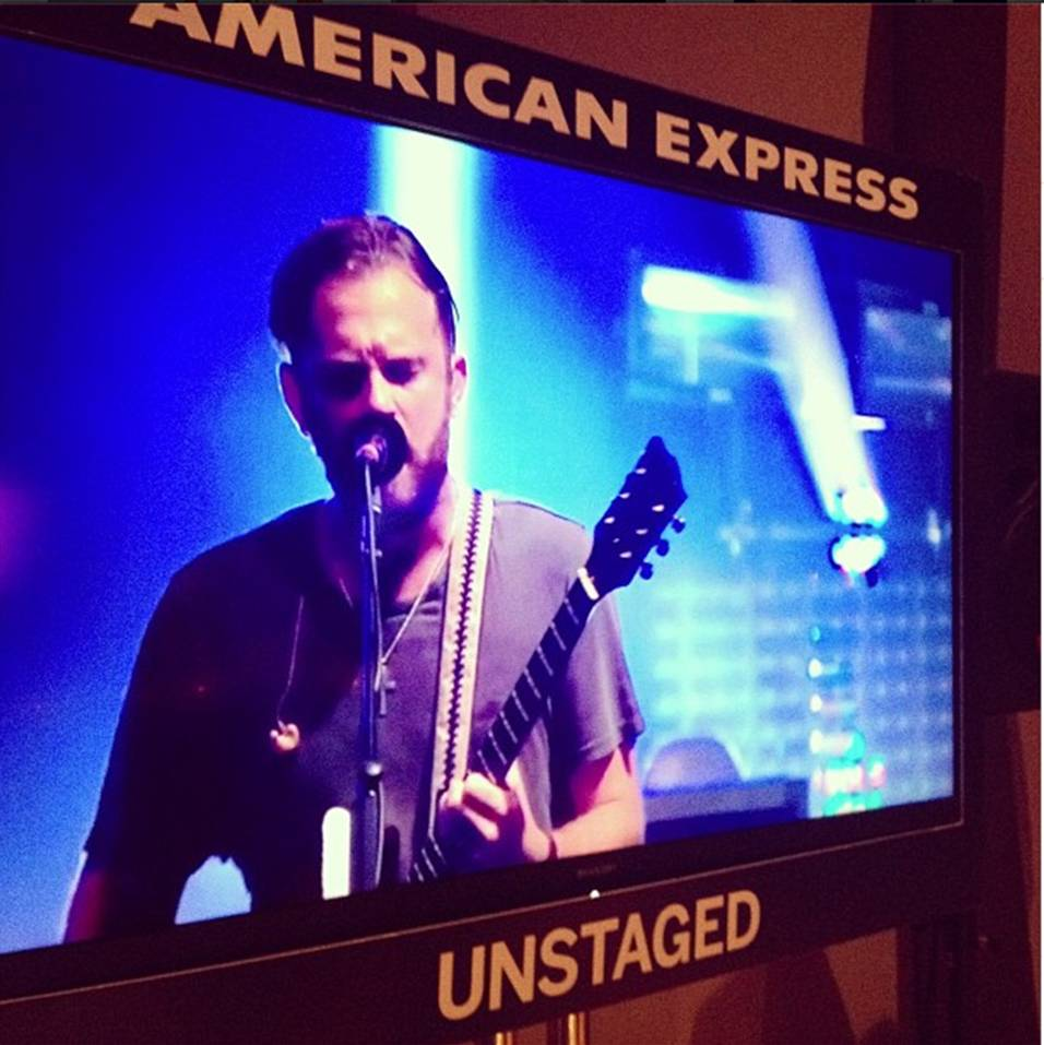 American Express UNSTAGED – with Kings of Leon
