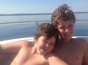 Hud and Tasman Boaty