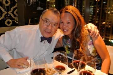 Wolfgang Blass with Sonya (TIFF 2012)