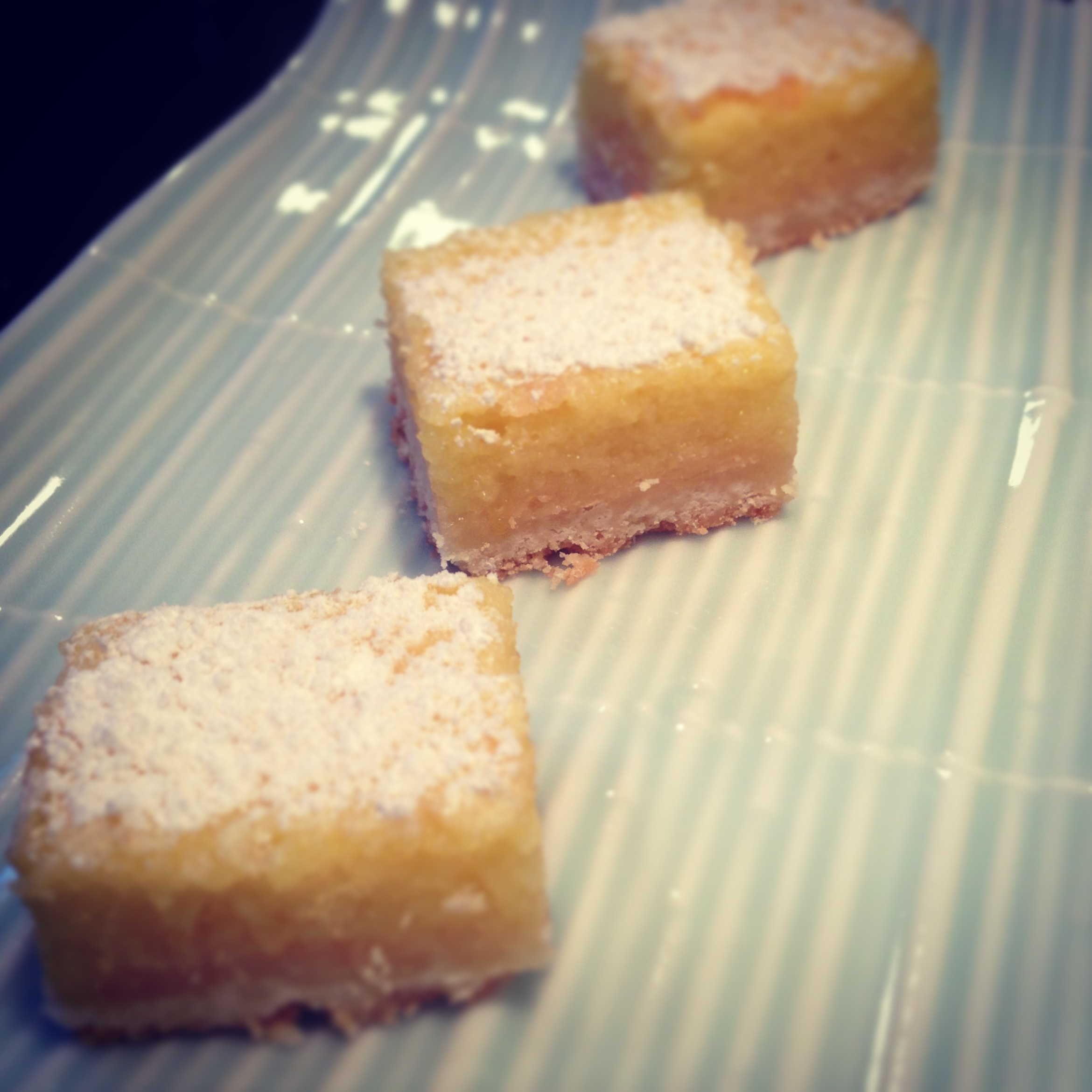 Unexpected Company and EASY Lemon Squares