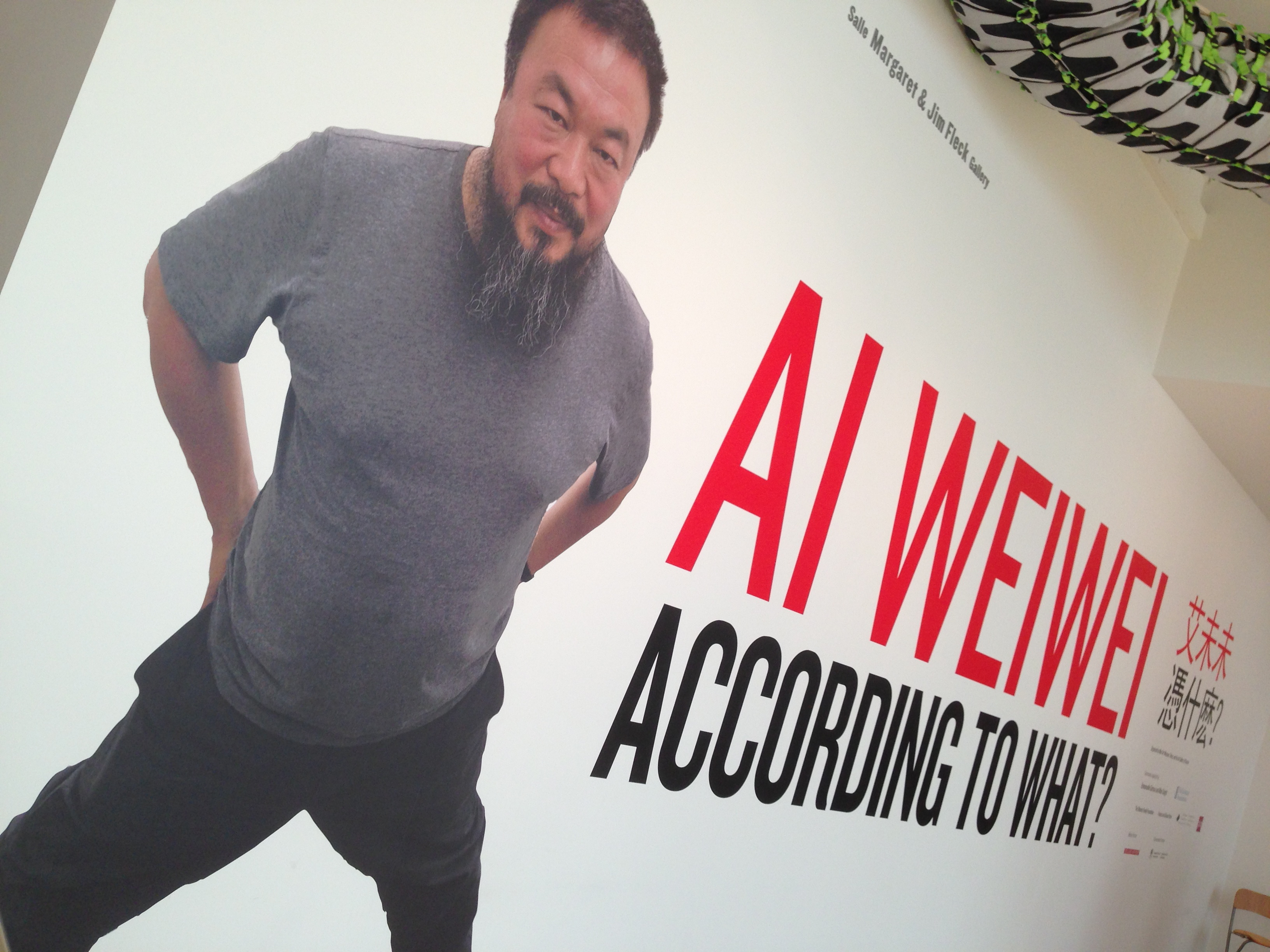 Ai Weiwei: According to What?
