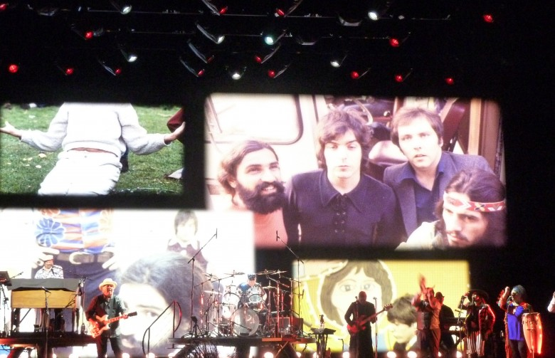 The Rascals on stage