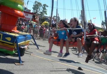 Kids' World Rides at the CNE. Photo credit: Sonya D