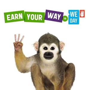 WE DAY! Who will be there and how to EARN YOUR WAY IN