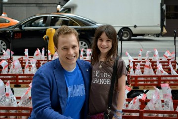 Marc Kielburger with Hannah Alper
