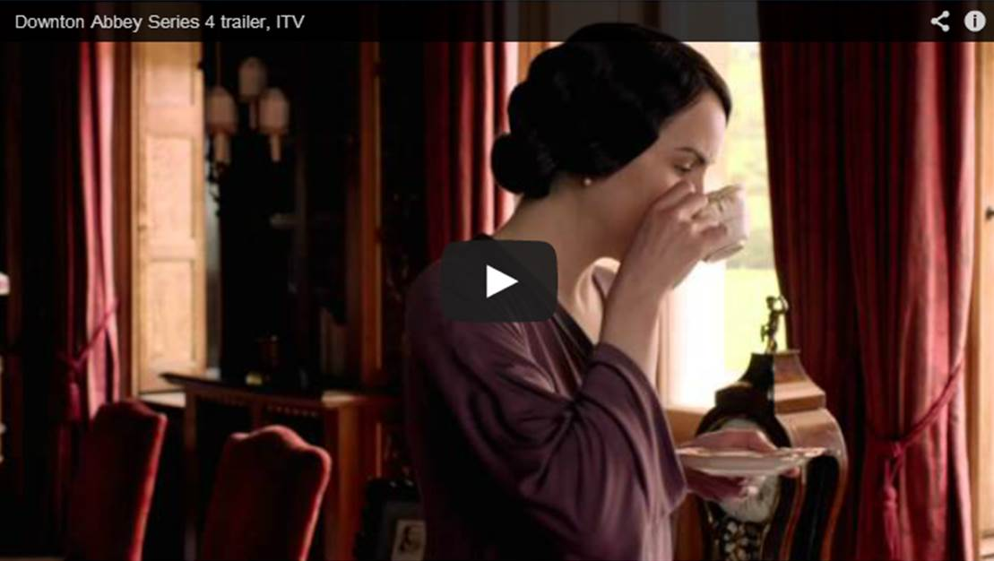 """'Downton Abbey"" Season 4 Trailer"