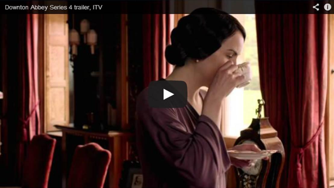 """""""'Downton Abbey"""" Season 4 Trailer"""