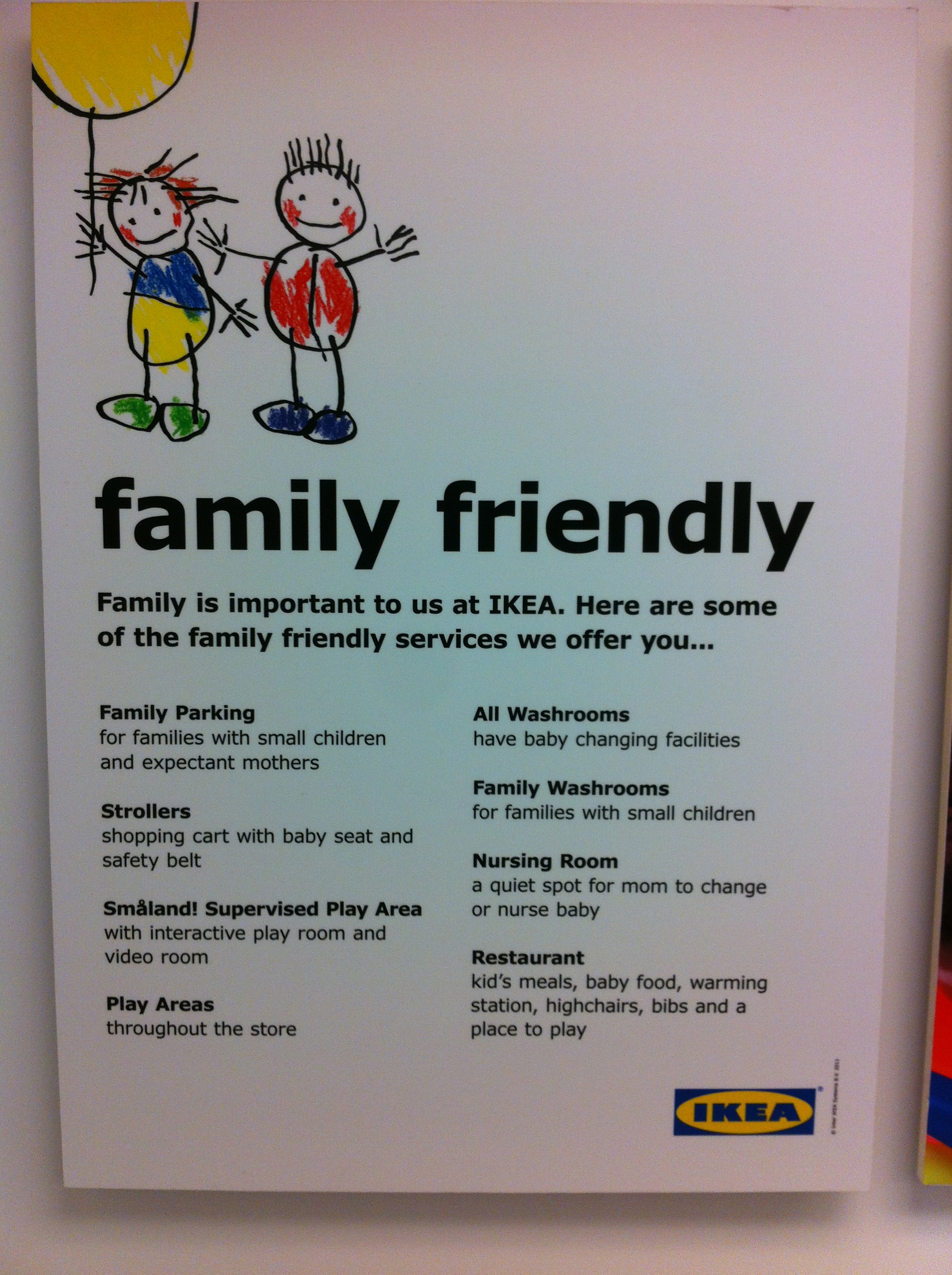 IKEA Really is Family Friendly