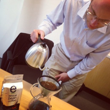 Aaron De Lazzer, Ethical Bean Coffee