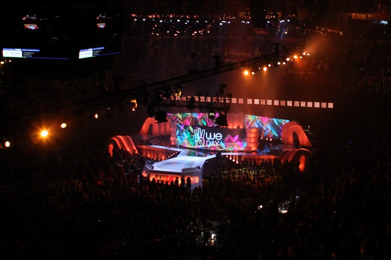 We Day Toronto (photo from September 28, 2012 - photo credit: Michael Rajzman/Free The Children)