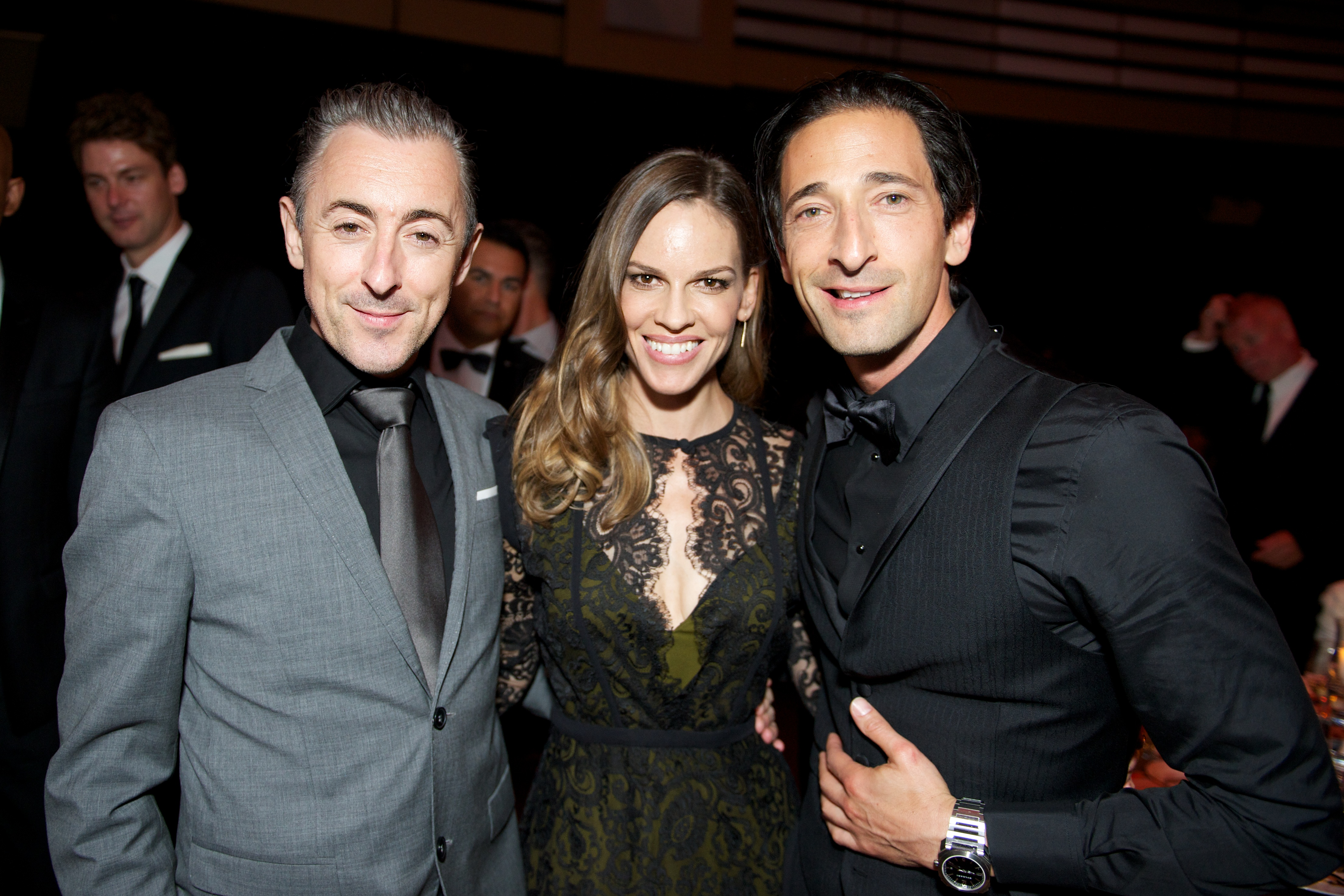 TIFF PARTY REPORT: Hilary Swank at the amfAR Inspiration Gala