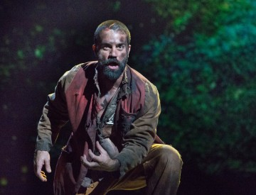 Ramin Karimloo as Jean Valjean – Les Misérables Toronto 2013. Photo Credit: Cylla von Tiedemann