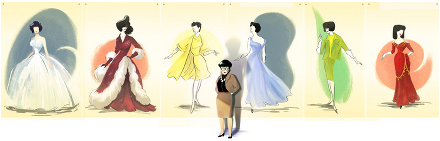 Edith Head Google Doodle