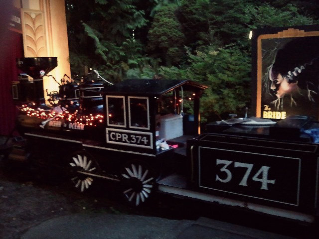 The Ghost Train at Stanley Park