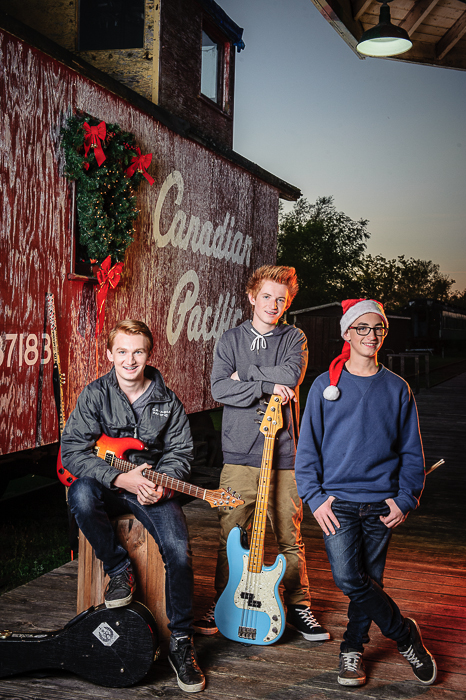 The Holiday Train with Brothers Dubé