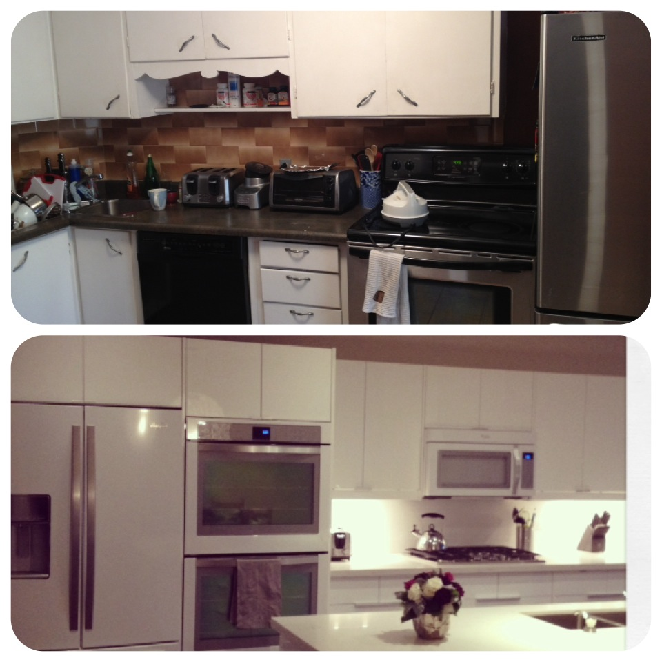 Kitchen Renovation – Before to After