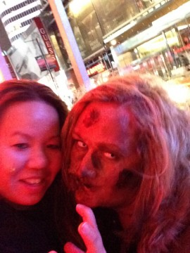 Hanging with zombies Xbox One Future Shop Launch Toronto