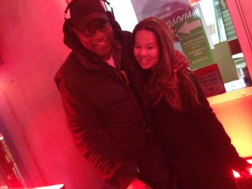 Hanging with the DJ at the Xbox One Future Shop Event