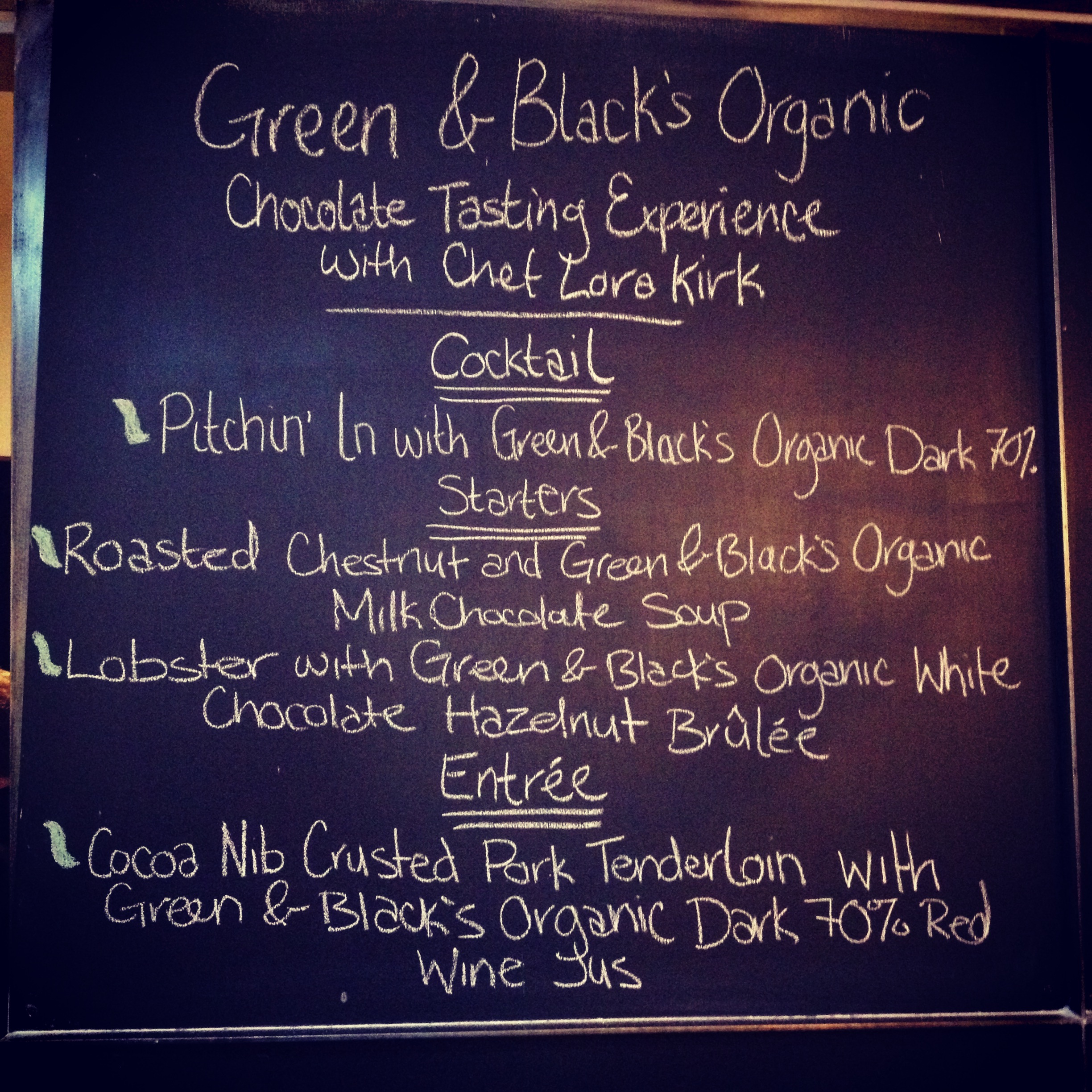 New Chocolate Flavours from Green & Black's Organic
