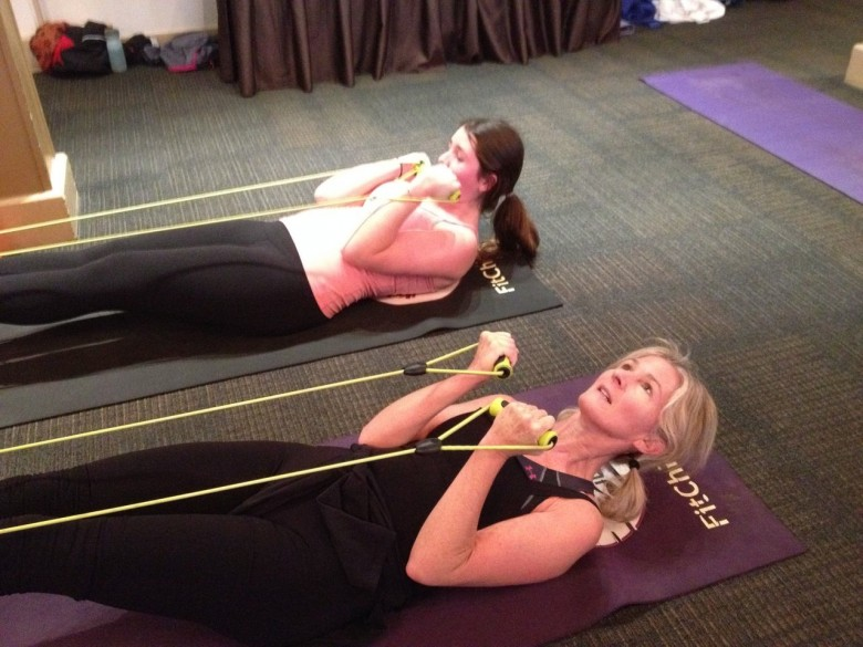 strengthening with Sammy at fitchicks