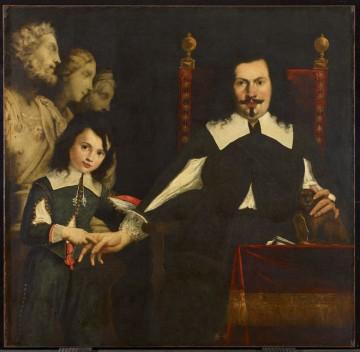 Pier Fancesco Cittadini, Pietro Bombarda and his Son Antoio 1600s. Oil on Canvas. Photo courtesy of AGO for Press purposes only.