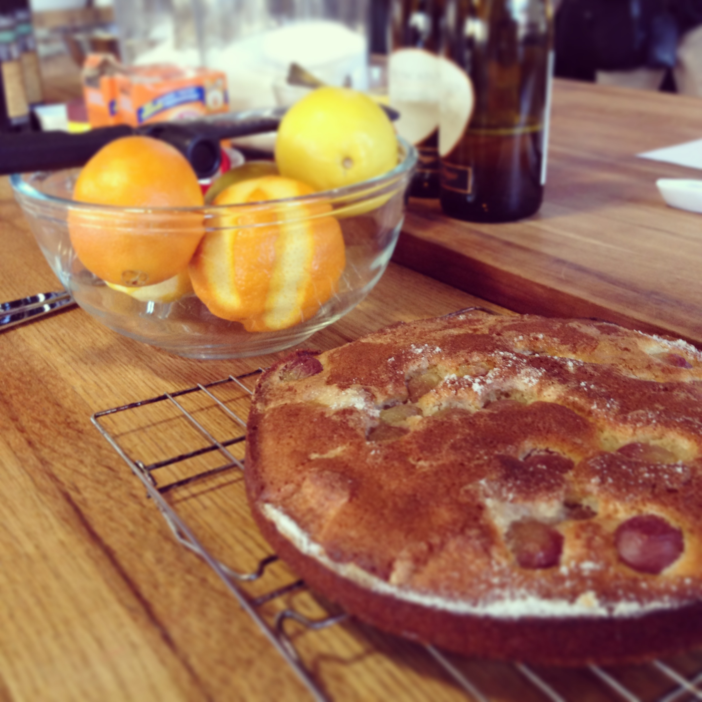 RECIPE: Deliciously Good Olive Oil Grape Cake